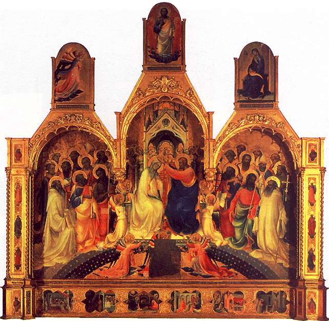 Lorenzo Monaco The Coronation of the Virgin
